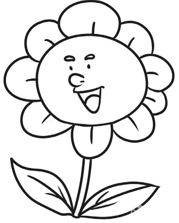 表情 向日葵表情简笔画 第1页 一起QQ网 表情