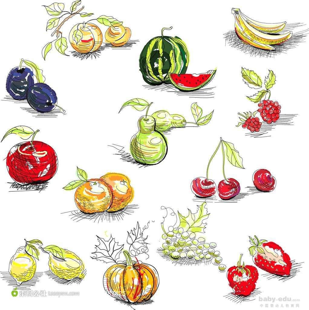 表情 水果简笔画图片大全,简笔画水果图片大全 共24张图片 水果简笔画  表情
