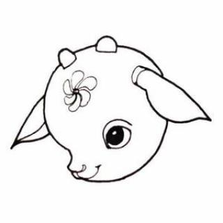 表情 可爱小羊的头像简笔画 头像图片表情包大全 表情