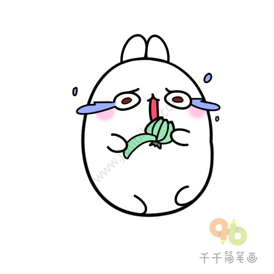 表情 土豆兔剥洋葱表情包千千简笔画人人都能轻松画简笔画图片大全教程 表情