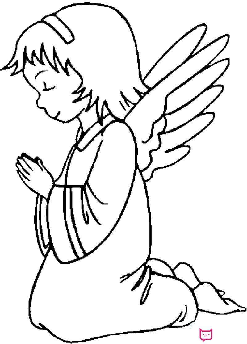 表情 可爱天使简笔画 板报网 表情