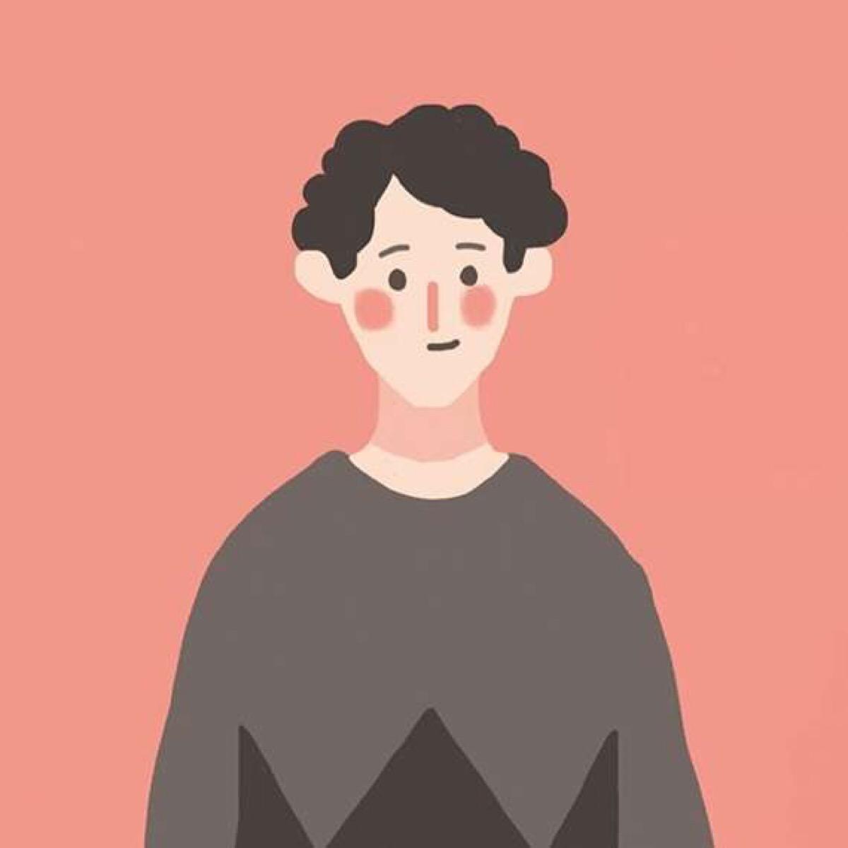 呆萌的可爱小男生QQ头像:我呆萌的世界你不懂_男生头像-ME个性网