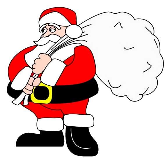 表情 圣诞老人的多种简笔画法 可可简笔画 表情