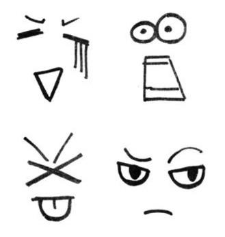表情 可爱手绘日记表情 皮皮网 表情