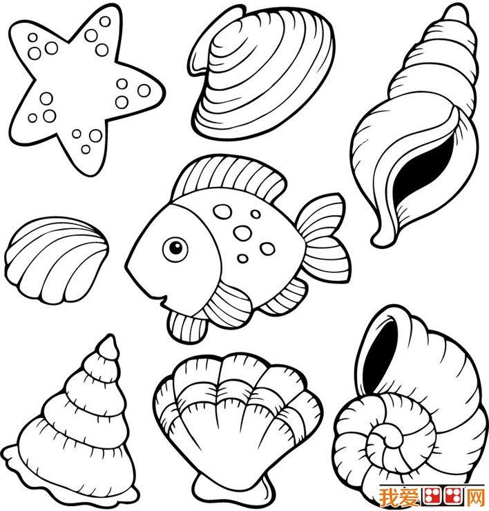 表情 海洋生物简笔画图片 海洋世界简笔画 就要健康网 表情