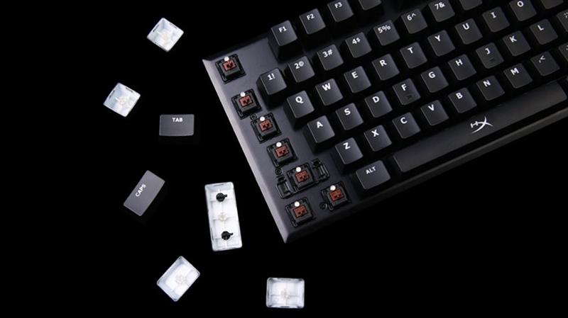 表情 HyperX Alloy机械键盘祝你一臂之力FPS走位 行业动态 外设天下 WWW.WSTX  表情