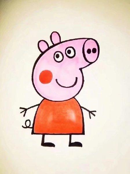 表情 小猪佩奇图片简笔画 可爱 动漫图片 窝窝QQ网 表情