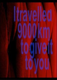 穿越九千公里献给你