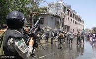 阿富汗民众举行反政府示威 与警方冲突
