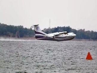 国产 大型水陆两栖飞机AG600 水上首飞成功