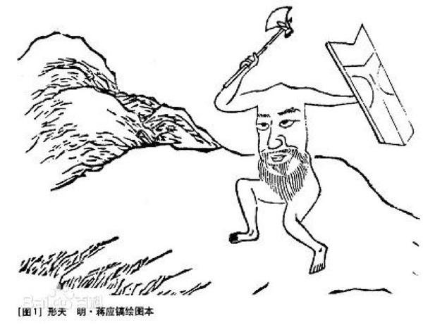 最简单的鲁迅简笔画