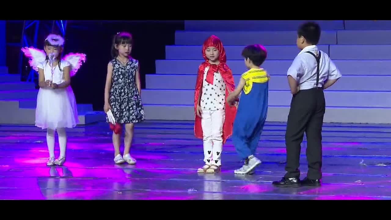 儿童舞台剧《卖火柴的小女孩》