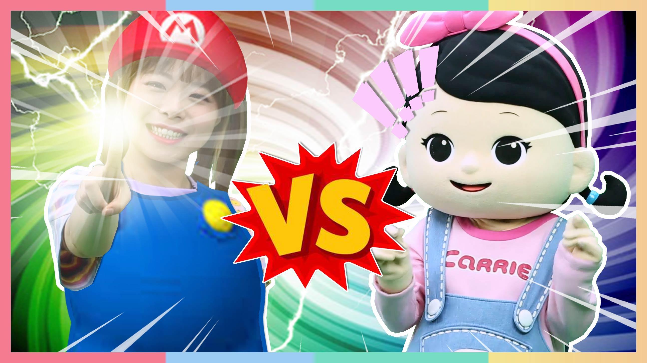 超级垃圾分类王PK赛!朱莉和小凯利进入游戏世界 | 凯利和玩具朋友们 CarrieAndToys