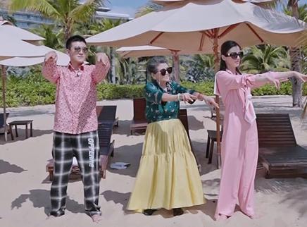 TV版第6期:黄圣依教螃蟹舞