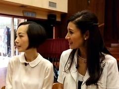 鲁豫赴香港采访女神 为李嘉欣下厨做生日礼物
