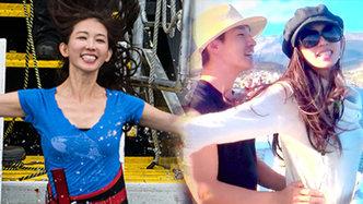 第11期:林志玲挑战南极冰泳