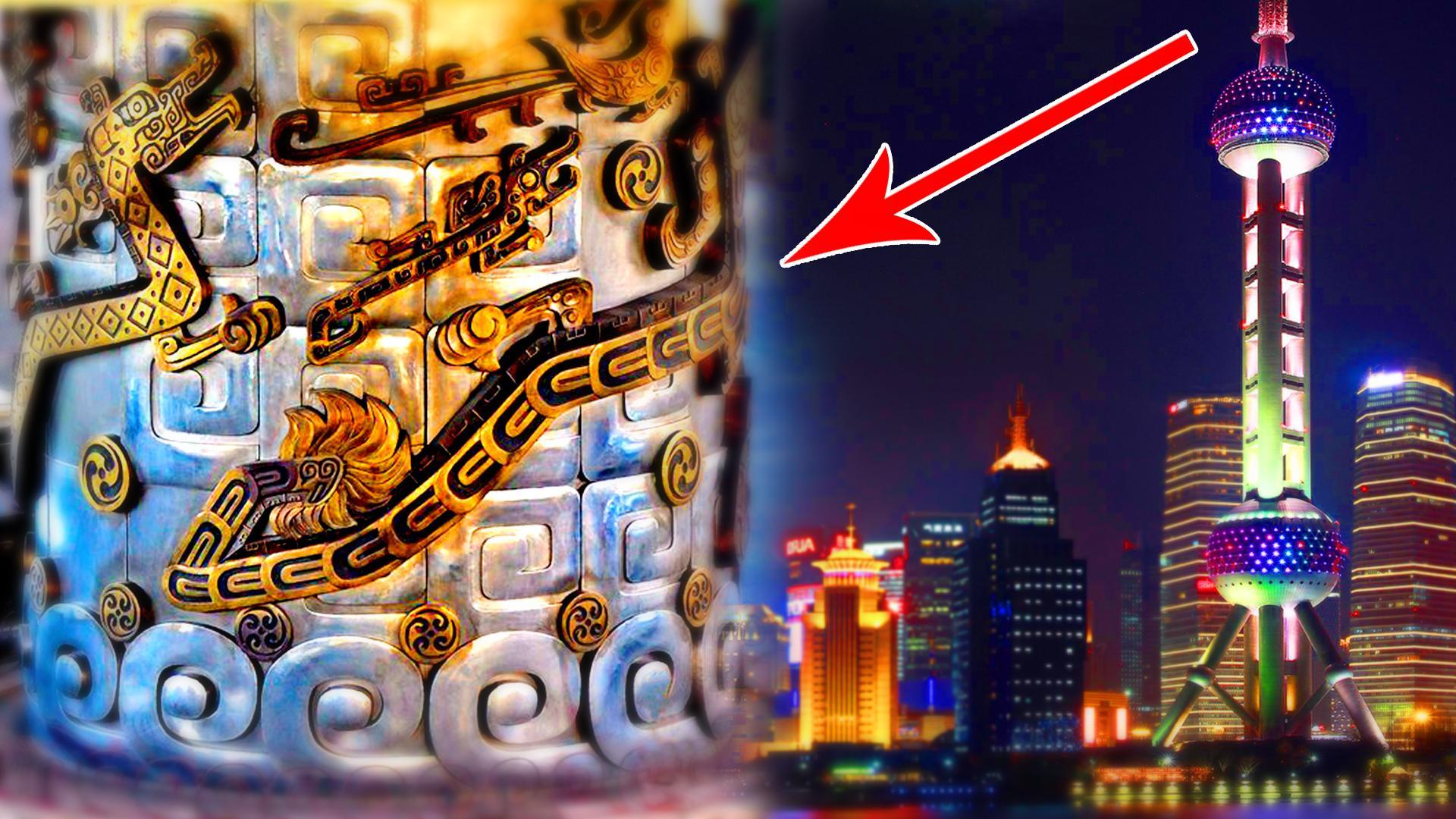 """上海高架桥""""盘龙柱""""之谜!"""