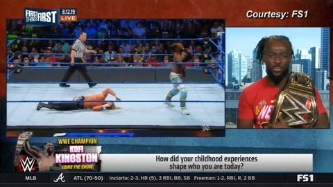 科菲接受采访:WWE舞台太震撼了