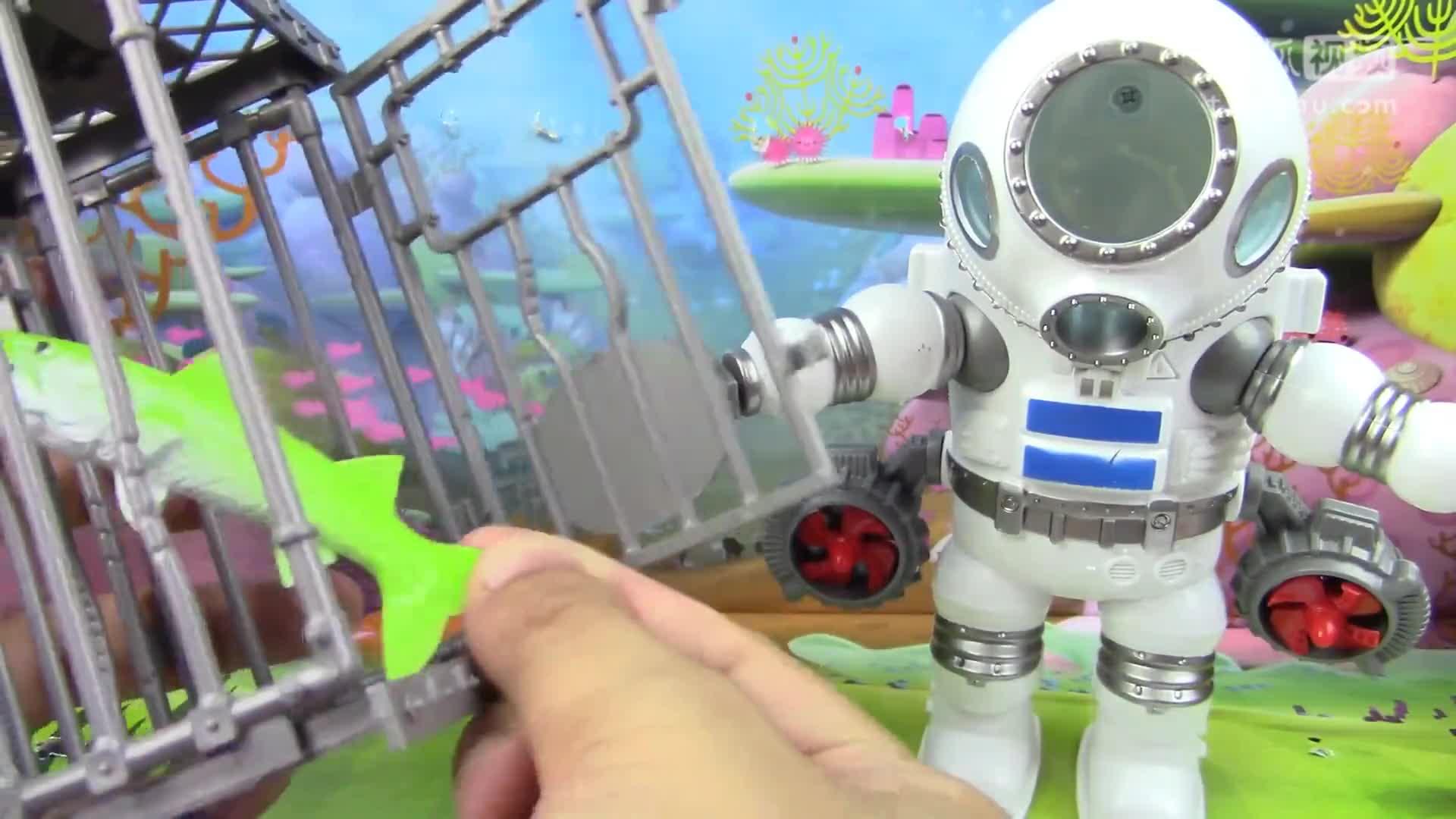 海底小纵队第4季救援车玩具 亲子早教益智过家家游戏