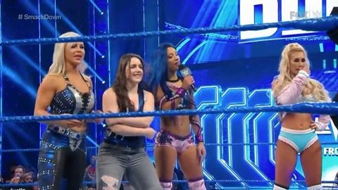 NXT战队将战斗带到SD拳台