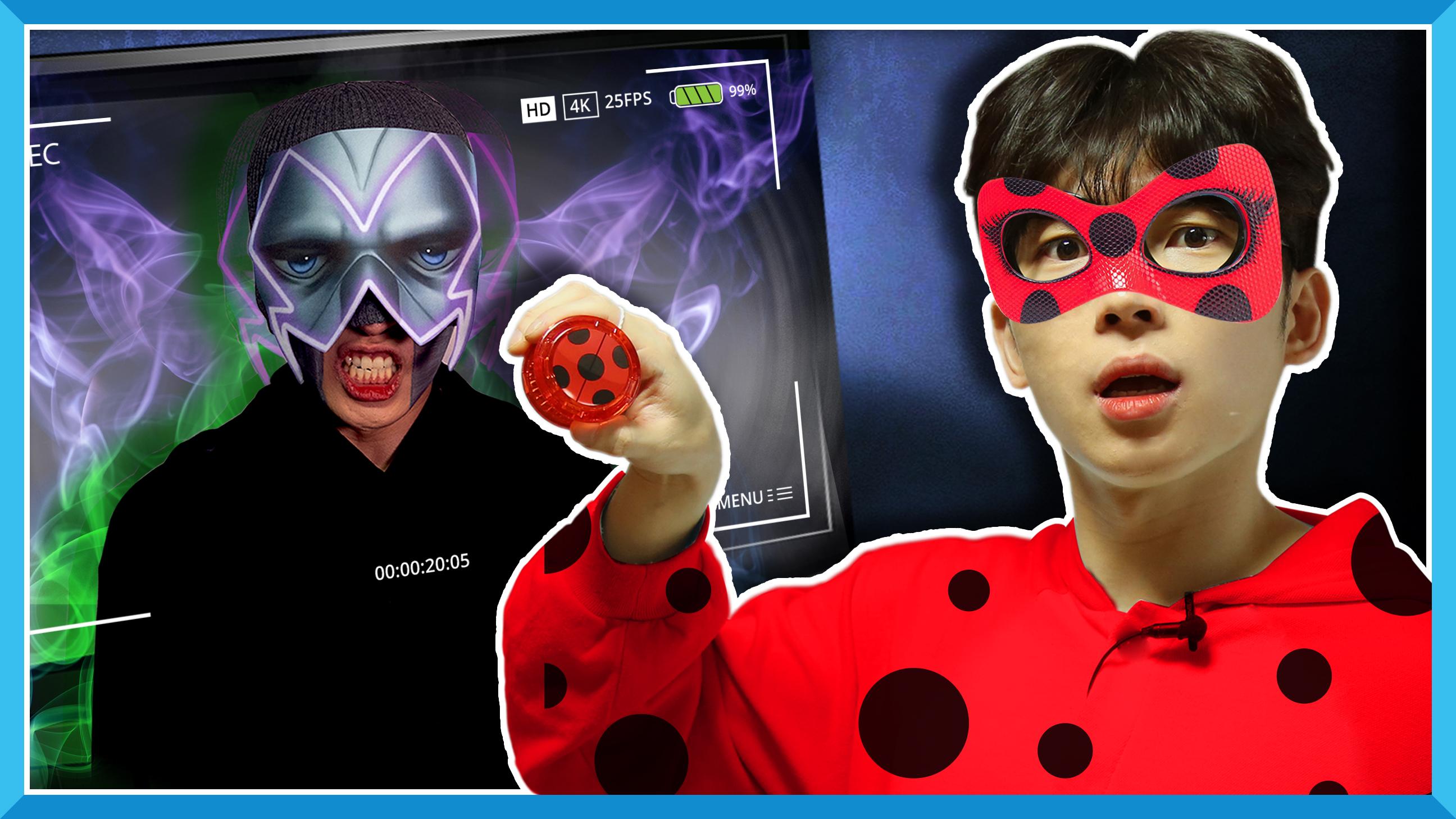 奇迹少女联手凯文!打败神秘的黑蝴蝶邪恶力量!| 凯文和游戏 KevinAndPlay