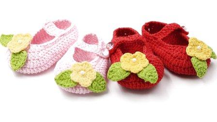 30种宝宝鞋编织教程图解步骤