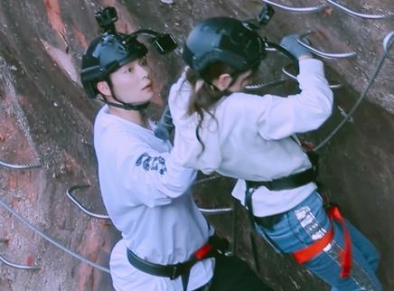 plus版第12期:璐恩夫妇挑战攀岩