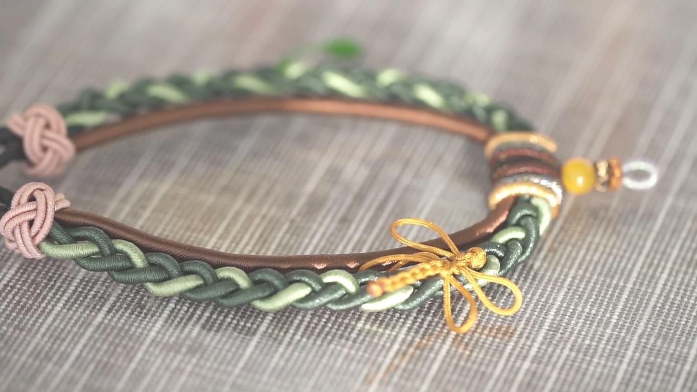 小时候经常玩的手工编绳,原来换根绳子你也能做艺术家