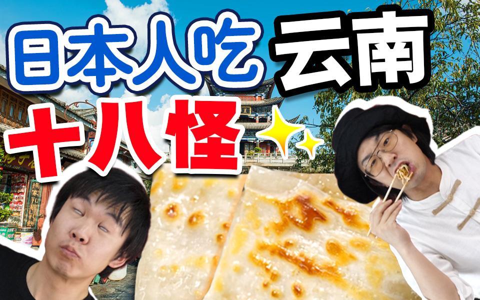日本人挑战中国蜜汁食物!云南乳扇好不好吃【绅士一分钟】
