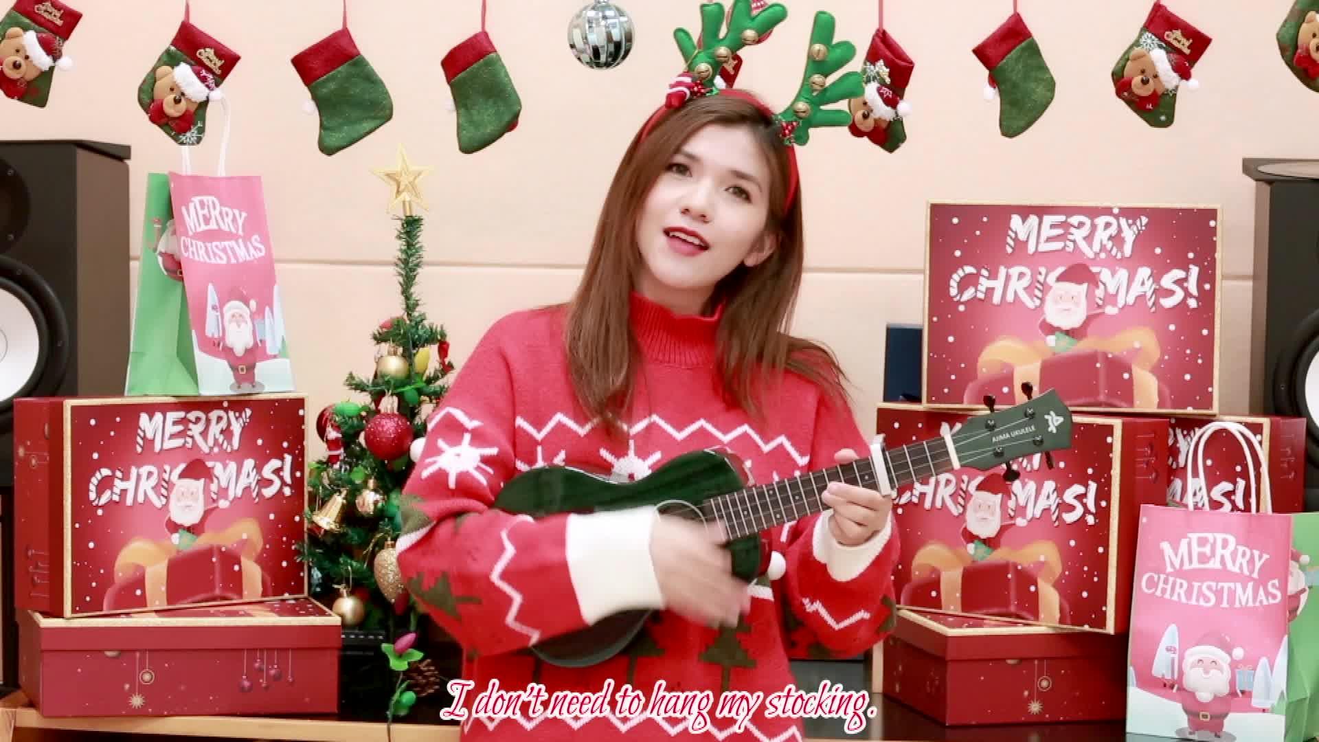 五首超好听圣诞歌曲大串烧!给你的圣诞节加加温~