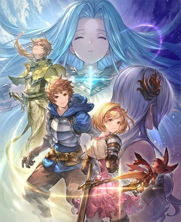 《碧藍幻想Re:Link》主視覺圖/遊戲截圖 戰鬥場面展示
