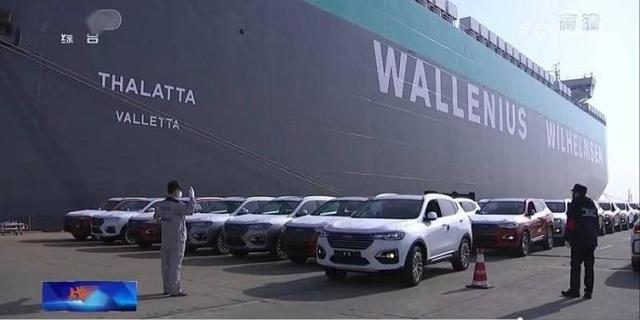 汽車出口12.8萬輛,上汽搶眼,吉利、奇瑞後勁足