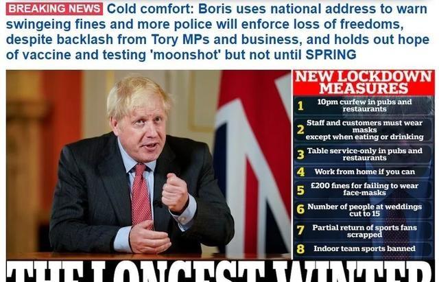 英国首相刚刚宣布了哪些最新抗疫措施?英镑继续下跌