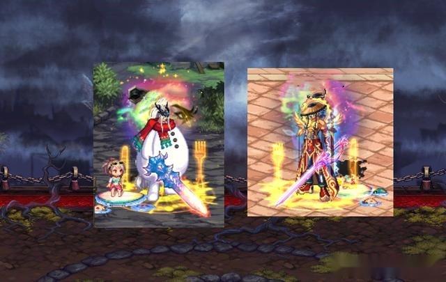 DNF:第一批神話裝扮出爐!暖暖黨曬成果,雪人套隱藏柱子外觀