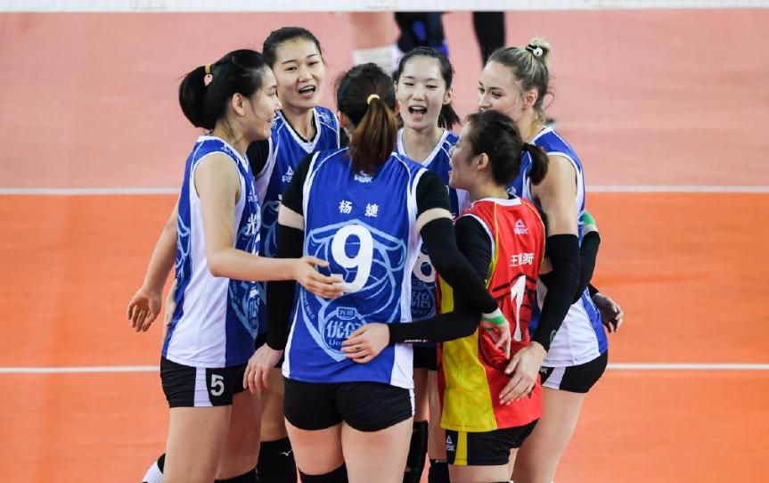 排超四強和半決賽對陣出爐,天津女排將碰廣東,蘇滬再次相遇
