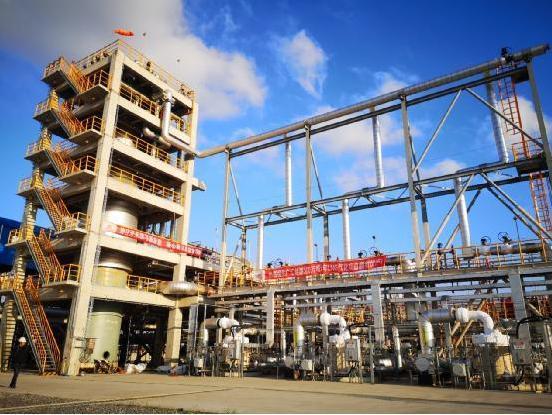 廣匯能源LNG接收站氣化外輸工程一次性投產成功
