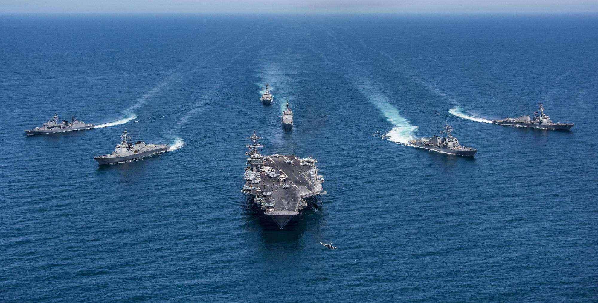 若中國雙航母進入一級備戰狀態,戰力有多強悍?非美國海軍不能敵
