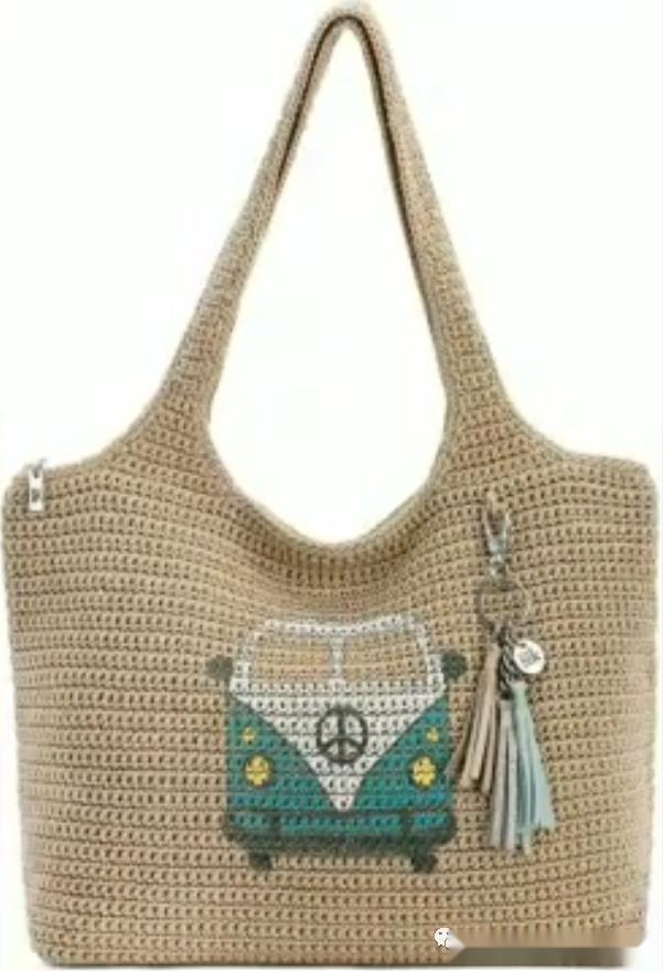 「針織作品」57個美觀時尚的線編休閑包包