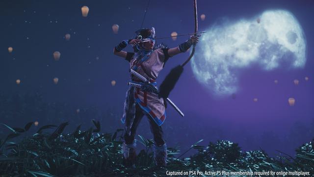 《對馬島之魂》新增四套新的服飾:聯動索尼經典角色