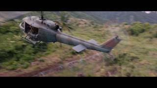 直升飞机在木房子里直接开出来了  这果然是游戏世界