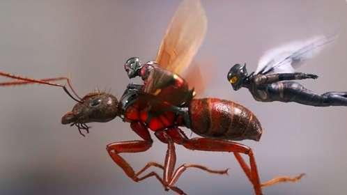 《蚁人2:黄蜂女现身》预告片 变大变小随意变
