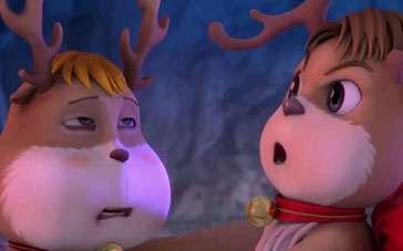 《圣诞大赢家》影院版预告 逗比麋鹿讲冷笑话
