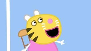 全都画成老虎的小朋友 这个老师的技能真是单一