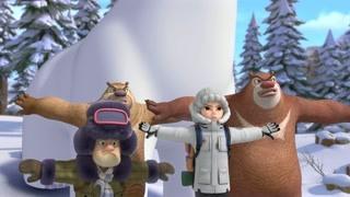 光头强与熊大大战天才威!他们能否齐心协力保护好团子?