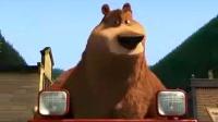 棕熊小镇搭救被捕小鹿