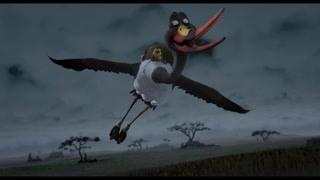 危急时刻 秃鹫准备偷吃鸟蛋