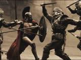 《斯巴达300勇士》片段:力量与美的对抗,影史最美杀戮!