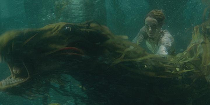 """《神奇动物:格林德沃之罪》""""水下坐骑""""片段"""