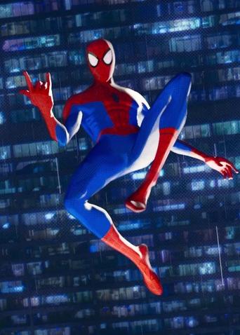 《蜘蛛侠:平行宇宙?#33539;?#26723;预告 英雄集结破次元跨年