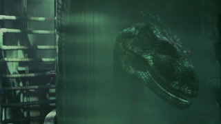 在废旧实验室遭遇装死恐龙